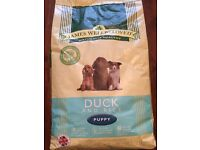 James Wellbeloved 7.5kg bag of Puppy Dog Food - Unopened