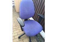 Office chair. Free to collector.