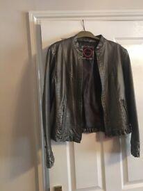 Women bronze jacket