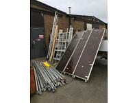 Aluminium scaffold tower spare parts & full towers