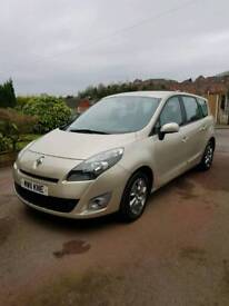 2011 Renault Grand Scenic Auto Expression dCi 51k miles