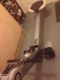 Fitness rowing machine