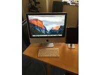 "Apple 20"" iMac 2009"
