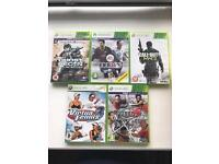 Xbox 360 games bundle - price reduced