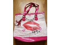 Large Pink Lipsy Bag