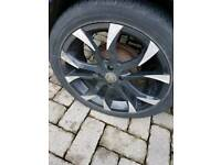 wolfrace alloys 17inch