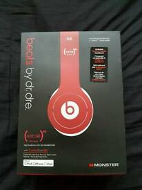 REAL AUTHENTIC DR DRE BEATS (SPECIAL EDITION) RED £30!!!!