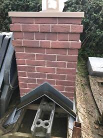🆕 chimney breast brick effect