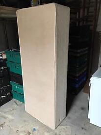 "2'6"" small single divan base. (No mattress)"