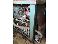 350 amp 3 phase ac/DC TIG welder with facility for water cooled torch.