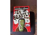 HORRIBLE SCIENCE BOOKS