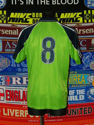 4/5 Scunthorpe United adults L #8 2001 football shirt jersey trikot soccer image