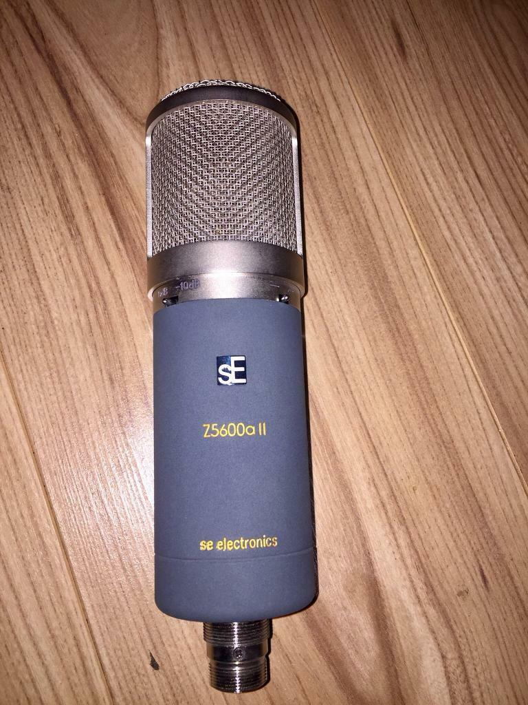 SE Electronics SE Z5600a MK11 TUBE Microphone Mic. RRP £789