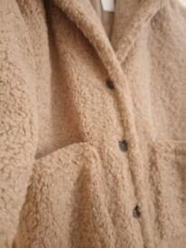Teddy bear coat brand new
