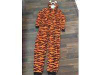 Tiger Onesie 13-14 Years