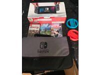 Nintendo switch grey in box