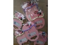 childrens minnie mouse bracelets pk 30 ideal for party bags etc