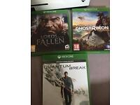 Three Mint Xbox one games quick sale cheap