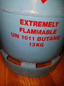 Gas bottle full butane