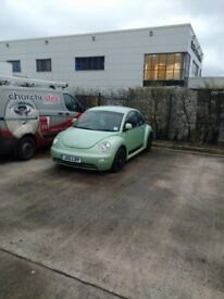 2.0 vw beetle with private plate