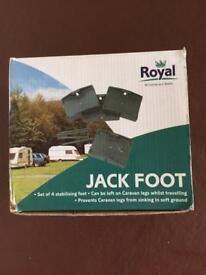 Caravan Accessories Stabilising Feet