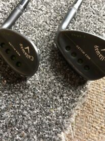 Callaway md3 wedges 54 and 58 recoil shafts stiff