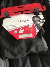 Phil and ted vide car seat adaptors for maxi cosi