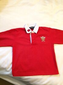 Rugby top boys or girls age 3-4