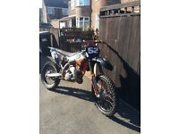2009 Ktm 125 running yam carb extremely quick pro circuit exhaust