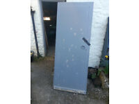 Timber Door and Frame suitable for garage or outbuilding/shed