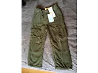 BNWT Two Pairs of Tu Trousers Size 2-3yrs