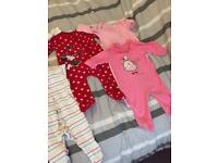3/6 months girls baby grows