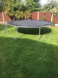 12 ft plum trampoline.