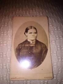 Victorian CDV photograph Glasgow