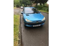 Peugeot 206 1.4 Hdi only 68,000 miles