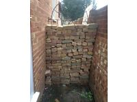 Bricks and rubble FREE. Pick up only.