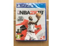 Unopened NBA 2K18 game (PS4)
