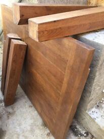 Beautiful Hardwood REAL OAK Table
