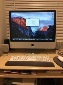 "Selling immaculate iMac 24"" £250"