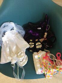 Build a bear clothes bundle