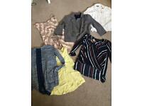 Ladies small bundle size 8, 6 items