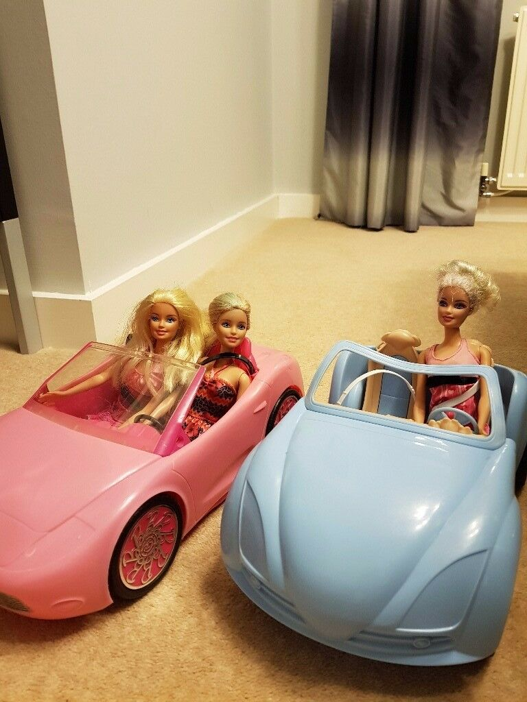 Barbie Cars with Barbies