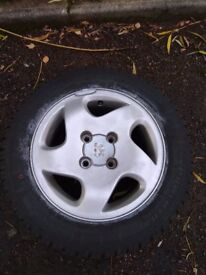 Peugeot partner/ Citroen berlingo alloy wheels (306, 406, saxo, 106,
