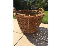 Wicker (log) basket