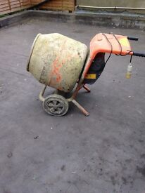 Used cement mixer with transformer