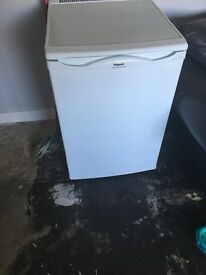 Hot point iced diamond fridge freezer