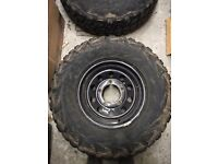 Land Rover Discovery Defender wheels and tyres Kumho KL71 MT Set of 5