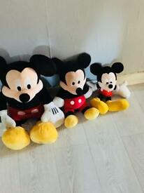 Mickey Mouse Teddy's