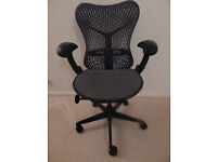Herman Miller Mirra chair in the best colour Graphite grey-last one!