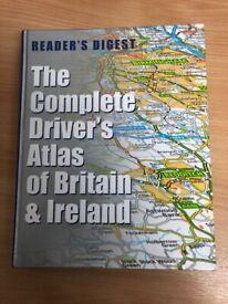 """Reader's Digest """"The Complete Driver's Atlas of Britain & Ireland"""""""